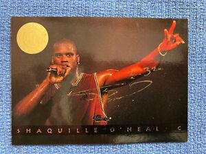 1993 Classic 36 Shaquille O'Neal auto Signed 833/994 HOF Lakers card Shaq COA