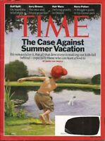 Time Magazine 2010 August 2 - anti-summer vacation
