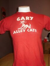 Vintage 1960's Southern Brand Gary Alley Cats High School Shirt small