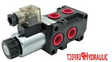 Hydraulic 6 Port Solenoid Diverter Selector Valve 12bsp 12 Vdc 13gpm 50l Dvs6