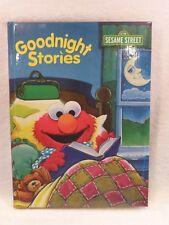 NEW Goodnight Stories Elmo W/Jim Henson's Muppets Hardcover By Merrigold Press