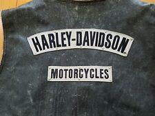 HARLEY DAVIDSON MENS 3XL XXXL WILLIE G / PANHEAD/ HERITAGE DISTRESSED VEST