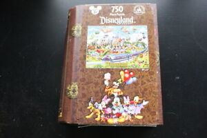 Disneyland Storybook Park Exclusive 750 pc. Jigsaw Puzzle Limited Disney