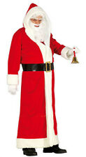 Mens Santa Claus Father Christmas Costume Deluxe Fancy Dress Outfit NEW 42-44
