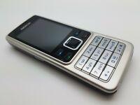 VGC Nokia 6301 - Black silver (Unlocked) Mobile Phone