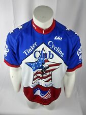 Louis Garneau Cycling Jersey Tinker Federal Credit Union Sz XXL American Flag