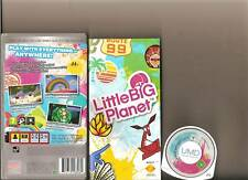 LITTLE BIG PLANET SONY PSP HANDHELD SACKBOY CREATE
