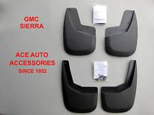 2007-2013 GMC SIERRA CUSTOM FIT MOLDED MUD FLAPS (4 PIECE SET) HUSKY 56801 57801