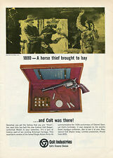 1965 Print Ad Colonel Samuel Colt Sesquicentennial Model Single Action Army 45