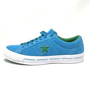 Converse One Star OX Hawaiian Ocean Blue Green Men's 12 Skate Shoes Sneakers New