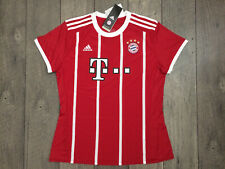 Adidas FC Bayern Munchen Home Soccer Jersey Womens Size Large Red NWT $80.00