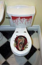 Halloween fête effrayant zombie gore toilette grabber décoration autocollants