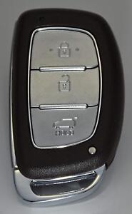 complete New Key Remote Hyundai IX35 Keyless Smart fob 2013 - 2015 433Mhz