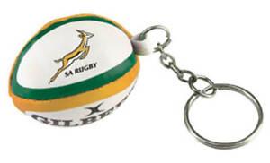 Gilbert Rugby Ball Schlüsselanhänger - Süd Afrika