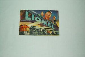 LIONEL 1952  CATALOG