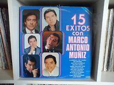 MARCO ANTONIO MUÑIZ | 15 Exitos | El despertar - Luz y sombra | LP VG+