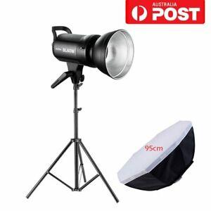 Godox SL-60W 5600K Studio Camera LED Video Light Stand 95cm Bowens Softbox