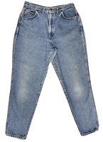 Vtg Chic Women's High Waist Tapered Leg Mom Wedgie Denim Jeans Size 18 Made USA