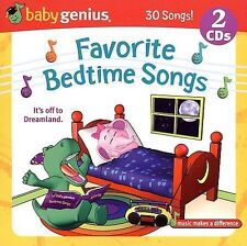 Baby Genius Favorite Bedtime Songs CD NEW