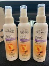 3 x Avon Naturals Hair Care  Detangling Spray Apricot & Shea 150ml
