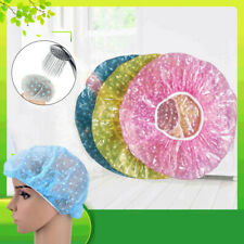 3PCS Elastic Shower Cap Hair Processing Hotel Plastic Products Waterproof hats