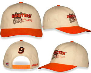 2021 Chase Elliott #9 Hooters Darlington Throwback Nascar Racing Snapback Hat