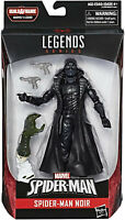 Marvel Legends ~ SPIDER-MAN NOIR ACTION FIGURE ~ BAF Lizard Wave - New/Unopened