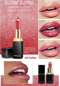 Moisturizing Waterproof Lipsticks Mermaid bright metallic pearl colour changing