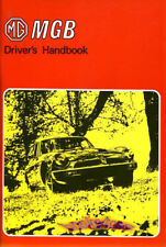 MGB OWNERS MANUAL 1975 MG DRIVERS GUIDE BOOK HANDBOOK 75 OWNER GT MGBGT