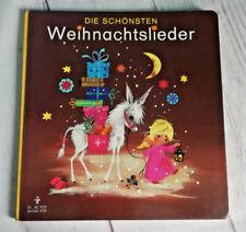 Die schönsten Weihnachtslieder Pestalozzi 1976 Pappbilderbuch 661 9723