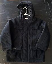 EUC Gymboree Boys Black Coat size M (7/8)