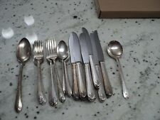 W.M. ROGERS & SON IS EXQUISITE SILVER FLATWARE 27) PIECES