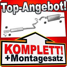 Auspuff TOYOTA YARIS VERSO 1.3 1999-2002 Auspuffanlage 811