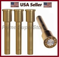 New 44 Mag Bullet Style Door Lock Knobs Auto/Car &Truck Copper Finish Doors Knob