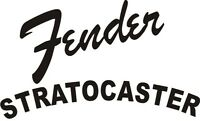 Fender Stratocaster decal