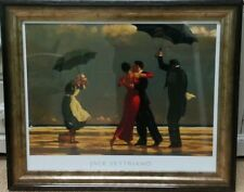 "VERY LARGE 35"" x 27"" The Singing Butler by Jack Vettriano Framed Art Print"