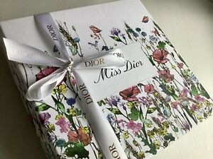 DIOR Miss Dior Luxury Gift Box Ribbon Set Brand New Fall 2021 VIP