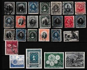 CHILI CHILE South America classics ones anno 1911 - 1956 TOP $$$$$$$$$$$$$$