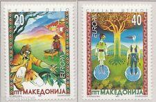 1997 Macedonië 102-103  Europa CEPT Sagen en legenden
