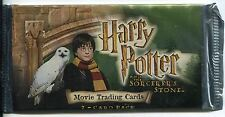 Harry Potter & The Sorcerers Stone Factory Sealed Hobby Packet / Pack