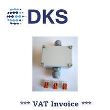 Z96 50x70x36mm IP65 Junction Box 2x M16 Glands 3x Splice Terminal 000805