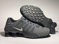 NEW Nike Shox NZ Men's Shoes SIZE 8-13 378341-059 Dark Grey Anthracite Metallic
