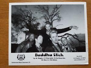 Bouddha Bâton 8x10 Noir et Blanc Photo de Presse Promotionnel Experimental Rock