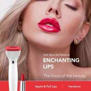 Lip Plumper USB Rechargeable Electric Natural Lip Enhancer Lip Plumping Suction