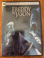 Freddy vs. Jason (Dvd, 2004, Platinum Series) 2-Disc