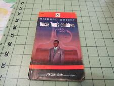 UNCLE TOM'S CHILDREN BY RICHARD WRIGHT   1947 1ST PENGUIN PAPERBACK PRINTING