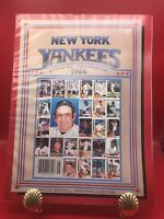 1984 New York Yankees Official Yearbook