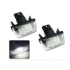 18 LED License Plate Light For Citroen C3/C4/C5/C6 For Peugeot 206/207/307/308