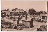 Railway Station and Boston Road, Spilsby, Lincolnshire RP c1910