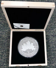 Kilo Maple Leaf 2012 $250 .9999 Pure Silver  Forever Canadian Coin RCM 1200 mint